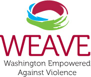 WEAVE Washington Empowered Against Violence Logo