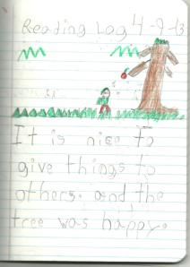 The Giving Tree book report